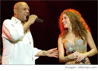 Joe Arroyo y Shakira